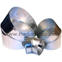 45 Degree Adjustable Elbows Ductwork