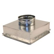 "12"" x 12"" Ceiling Box, w/ 8"" Round Collar"