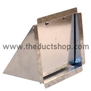 "14"" X 14"" Eyebrow w/ Screen and Damper"