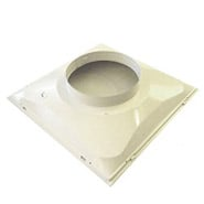 "Return Air Diffuser, 24"" x 24"" x 14"" Round"